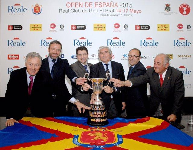 Presentación del Open de España 2015