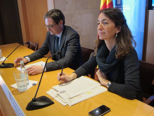 Los directores generales Miquel Puig y Marta Subirà
