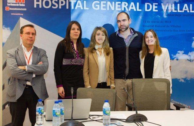 Pediatras debaten sobre obesidad en el H. General de Villalba