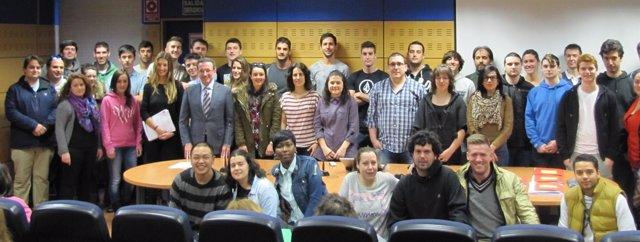 Alumnos de FP que harán prácticas en países de la UE