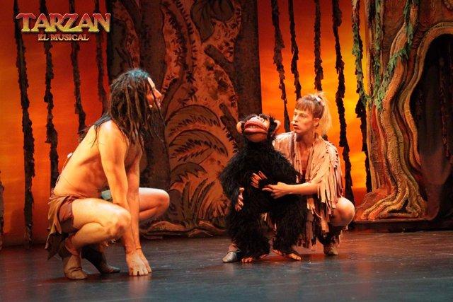 Escena de 'Tarzán, el musical'