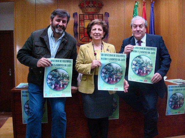 Presentación del III Concurso de Balcones, Patios y Jardines de Jaén