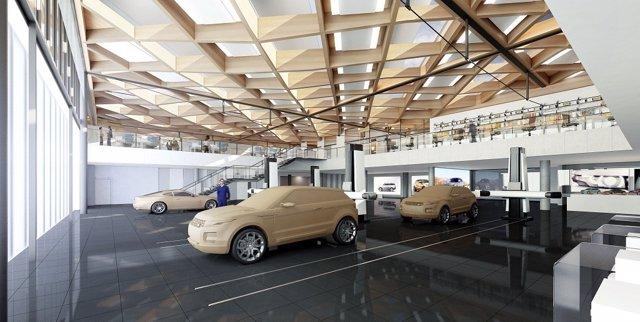 Centro NAIC de Jaguar Land Rover