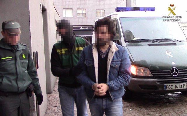 NArco operación Mesías red en A Coruña