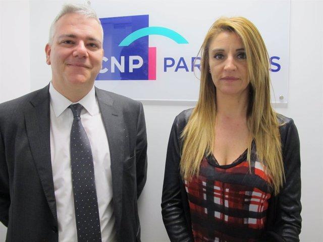 Antonio Benito y Cristina Sánchez