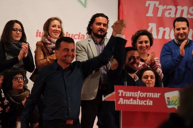 El candidato de IU al Gobierno, Alberto Garzón.