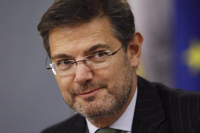 Rafael Catalá tras el Consejo de Ministros