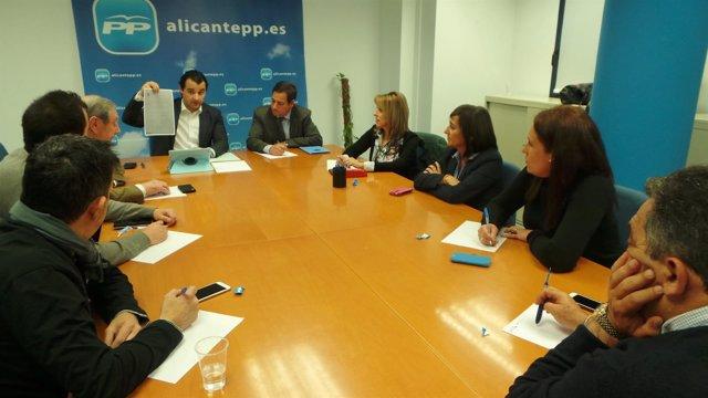 Comité Electoral Provincial del PP de Alicante