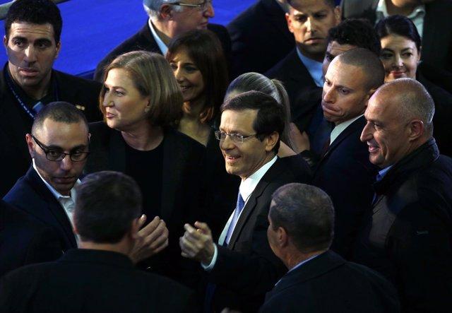El líder de la coalición de centro-izquierda Unión Sionista, Isaac Herzog