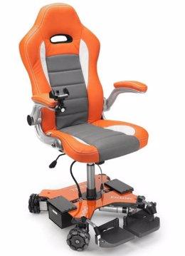 La silla omnidireccional Estel