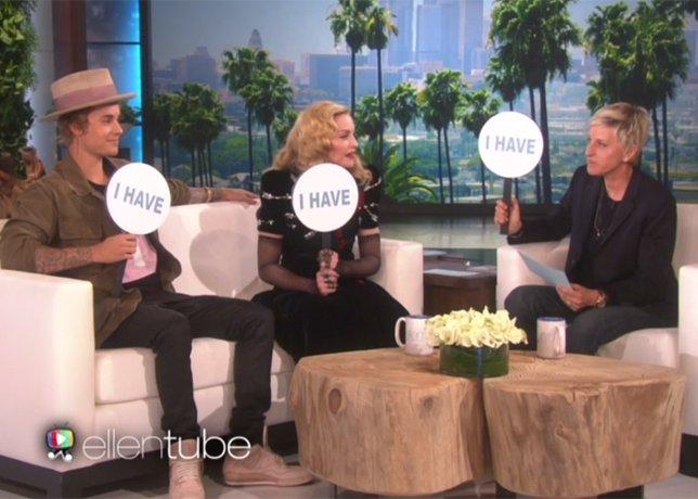 ¿Qué Podrían Tener En Común Madonna, Justin Bieber Y Ellen Degeneres?