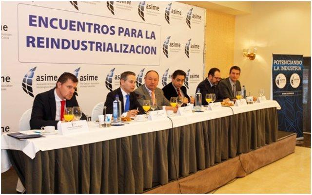 Encuentro promovido por Asime en A Coruña
