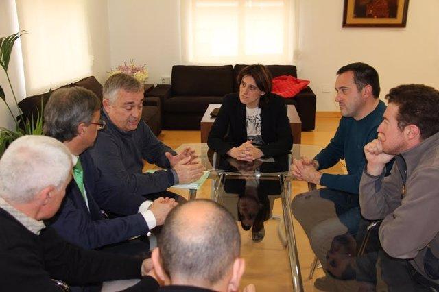 Reunión equipo de Gobierno de Torrelavega-comité de Sniace