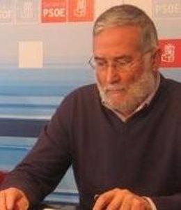 El secretario de Política Institucional del PSC-PSOE, Ramón Ruiz