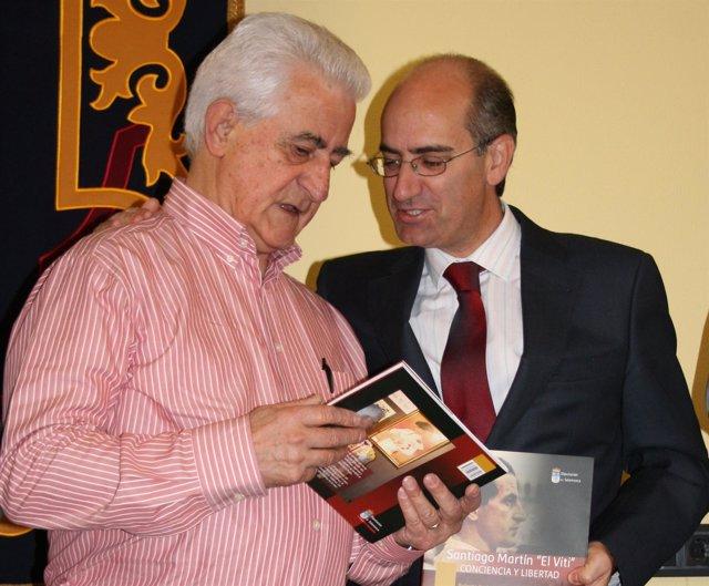 El Viti (I) Y Javier Iglesias (D)