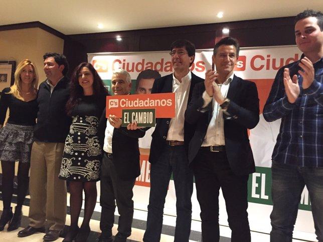Marín, en un acto de campaña en Granada