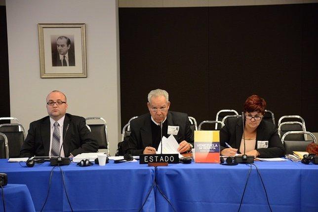 Representantes del Gobierno de Venezuela en la CIDH