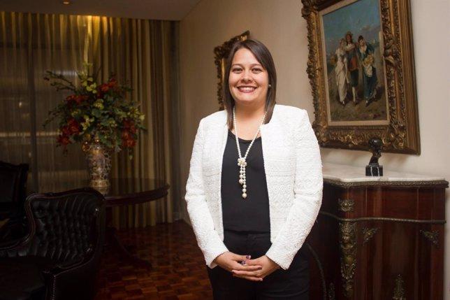 La Viceministra De La Presidencia, Ana Gabriel Zúñiga De Costa Rica