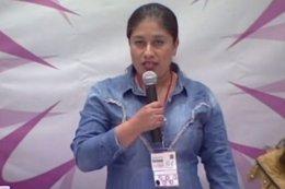 Candidata del PRD a la Alcaldía de Ahuacuotzingo (Guerrero), Aidé Nava,