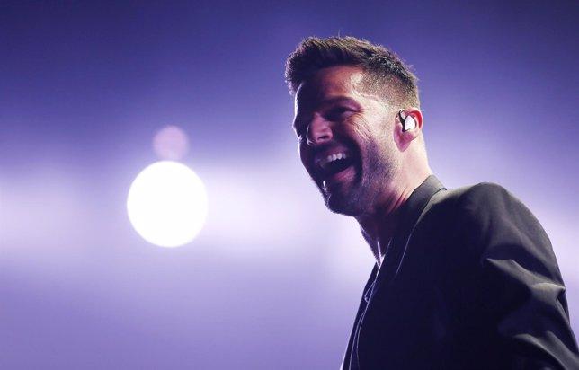 Ricky Martin vuelve al escenario