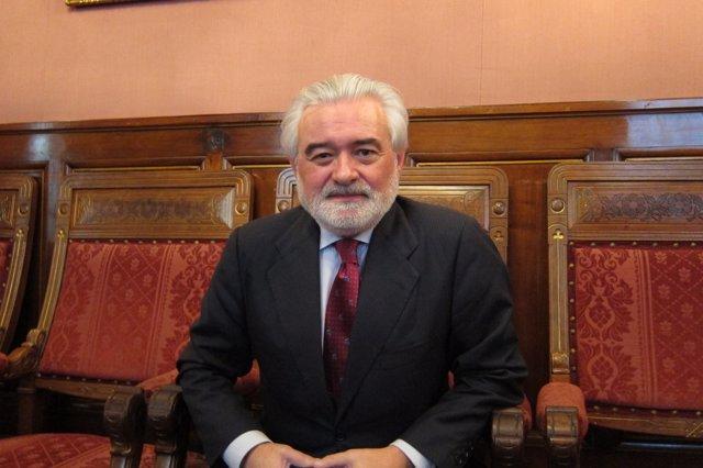 El director de la Real Academia de la Lengua española (RAE), Darío Villanueva