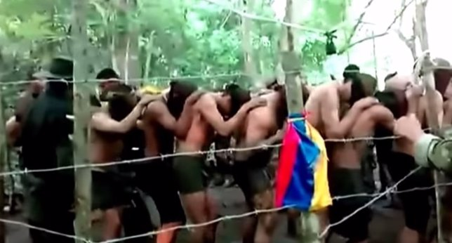 Maltrato a la Armada Colombiana