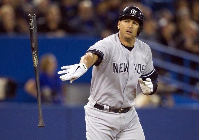 Béisbol, Alex Rodriguez, del New York Yankees