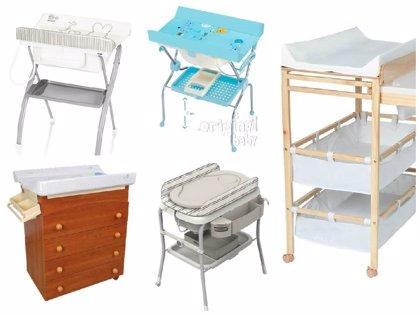 Cinco bañeras con cambiador baratas para tu bebé