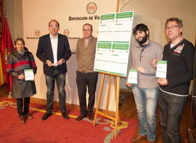 Presentación de las Jornadas Literarias 'Villa del Piñón'