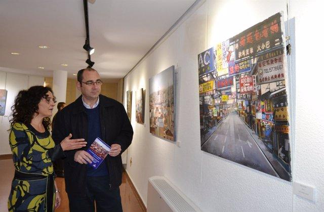 La pintora murciana Julia Campisano expone en la Casa de Cultura Francisco Rabal