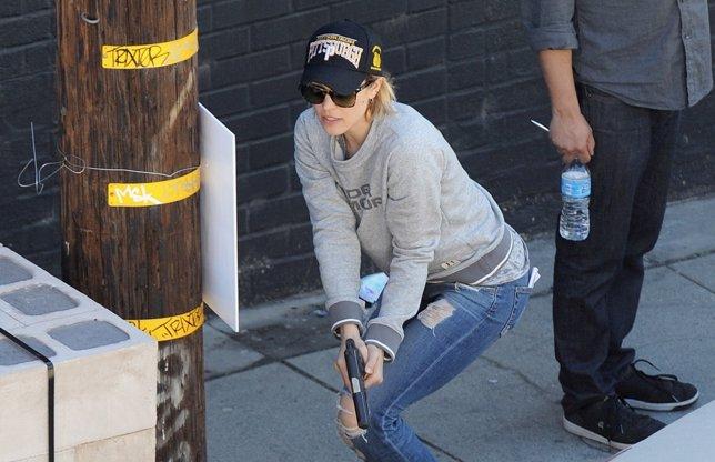 Rachel McAdams en las primeras imágenes del rodaje de True Detective