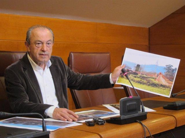 Marcano denuncia que se han iniciado las obras de la telecabina sin licencia