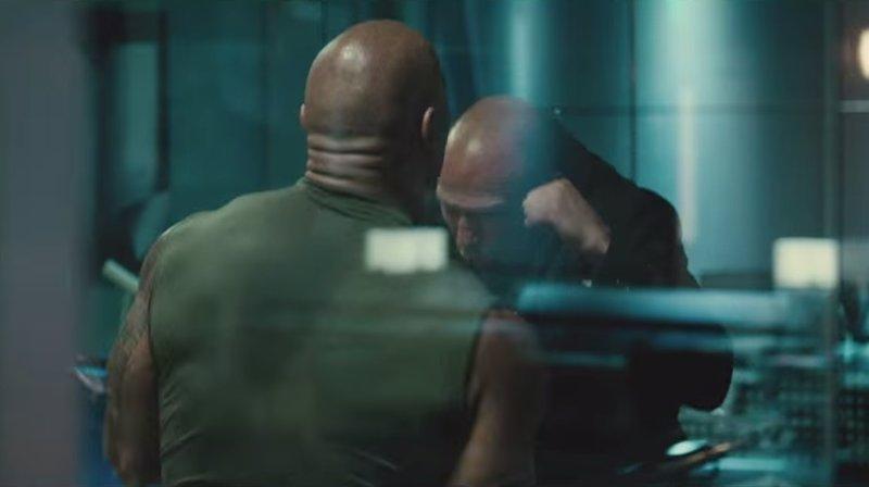 Fast & Furious 7 Clip: The Rock vs. Jason Statham