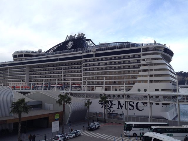 Crucero MSC llega a Barcelona