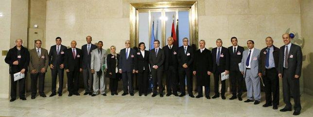 Representantes de la Secretaría General para Libia