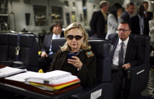 La exsecretaria de Estado de Estados Unidos Hillary Clinton