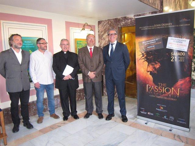 Presentación del concierto 'The Passion of the Christ'