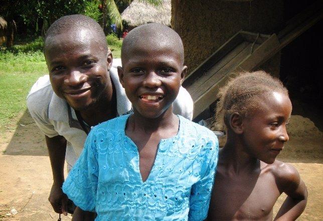 Niños en Sierra Leona