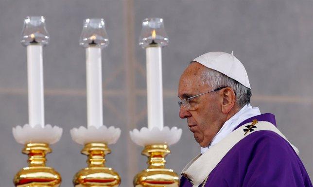 El Papa Francisco en Nápoles