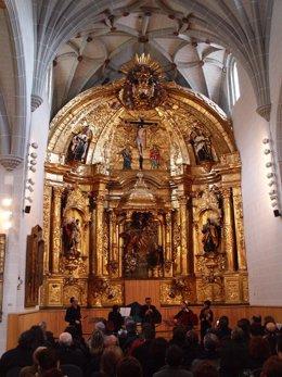 Concierto en la capilla del Museo de Navarra.