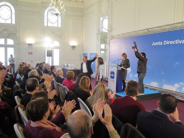 Sanz elegido candidato del PP al Gobierno riojano