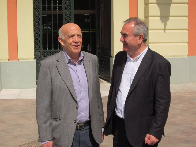 José Ignacio Gras junto a González Tovar