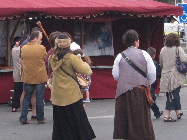 Mercado Medieval En Cantabria