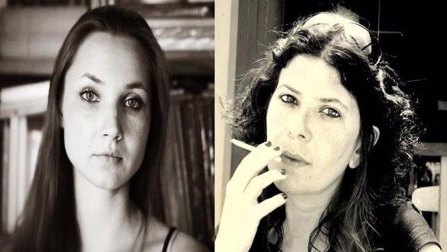 Las poetas Natalia Litvinova y Claudia Masín