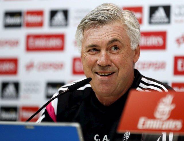Real Madrid Carlo Ancelotti