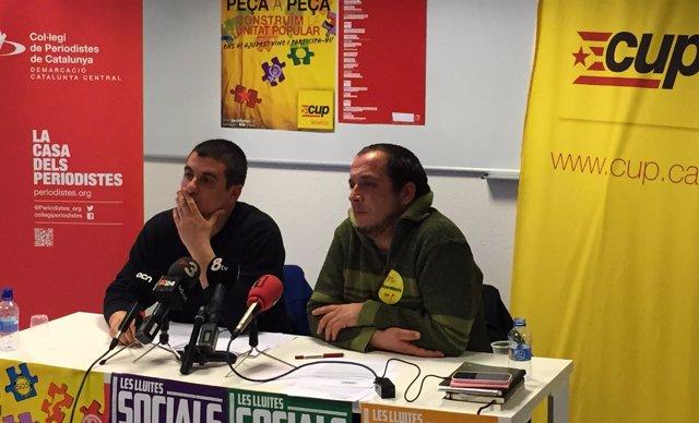 Q.Arrufat y D.Fernández, CUP