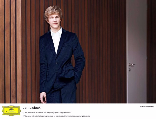 El pianista canadiense Jan Lisiecki