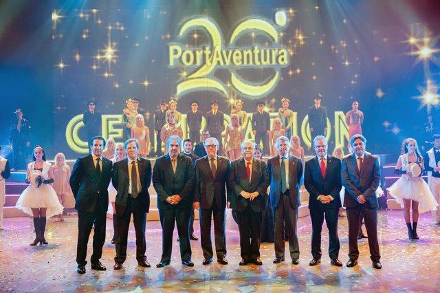 Inauguración de la temporada del 20 aniversario de PortAventura