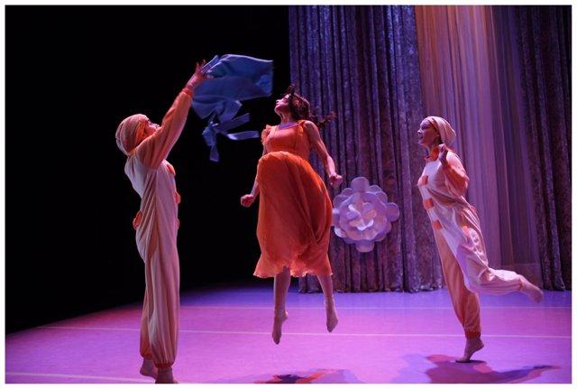 Escena del espectáculo de danza 'Peter Pan'