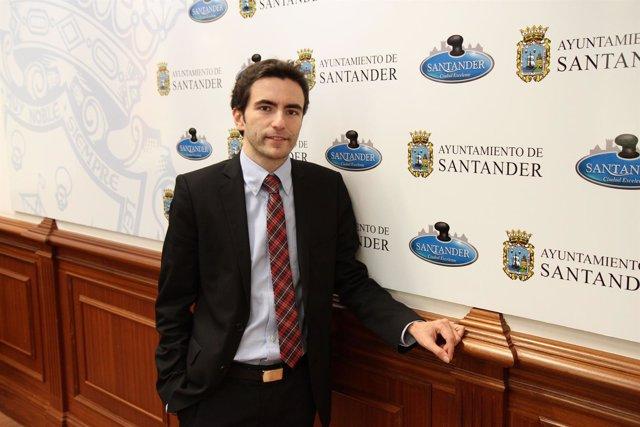 Pedro Casares, candidato del PSOE